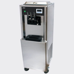 Soft Serve Ice Cream Machine Near Me For Sale South Africa BQ333PA Beiqi Floor Model With Pre-Cooling & Airpump