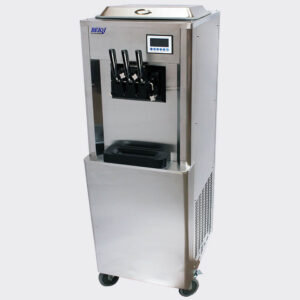 Soft Serve Machine Near Me For Sale South Africa BQ346P Beiqi Floor Model With Pre-Cooling