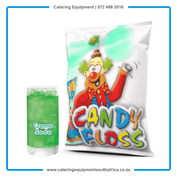 Creme Soda Candy Floss Sugar For Sale   #1 BEST Cotton Candy