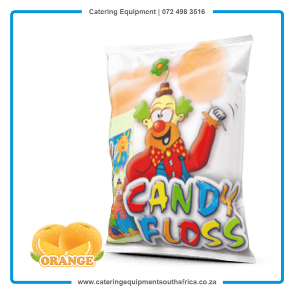 Orange Candy Floss Sugar For Sale | #1 BEST Cotton Candy