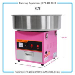 Candy Floss Machines For Sale South Africa MF-01   #1 BEST ChromeCater Cotton Candy Machines Supplier South Africa