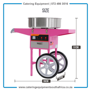 Candy Floss Machine For Sale South Africa MF-01   #1 BEST ChromeCater Cotton Candy Machine Supplier South Africa