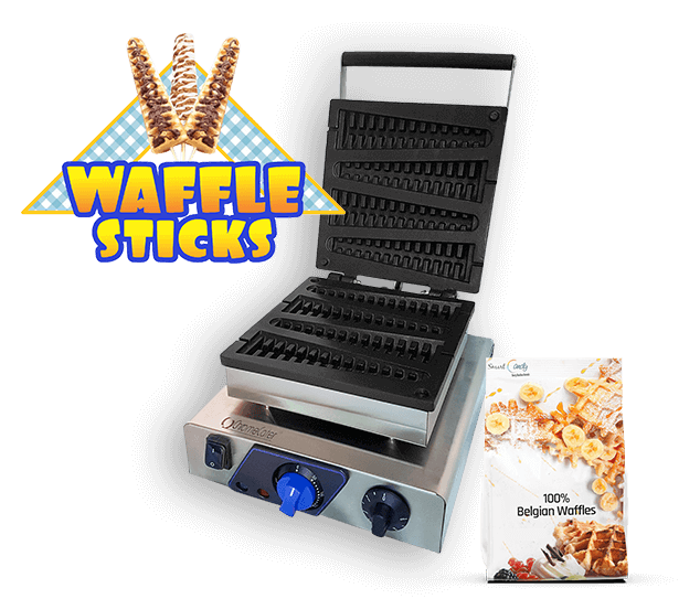Stick Waffle Maker For Sale | ChromeCater Lolly Stick Waffle Machine South Africa